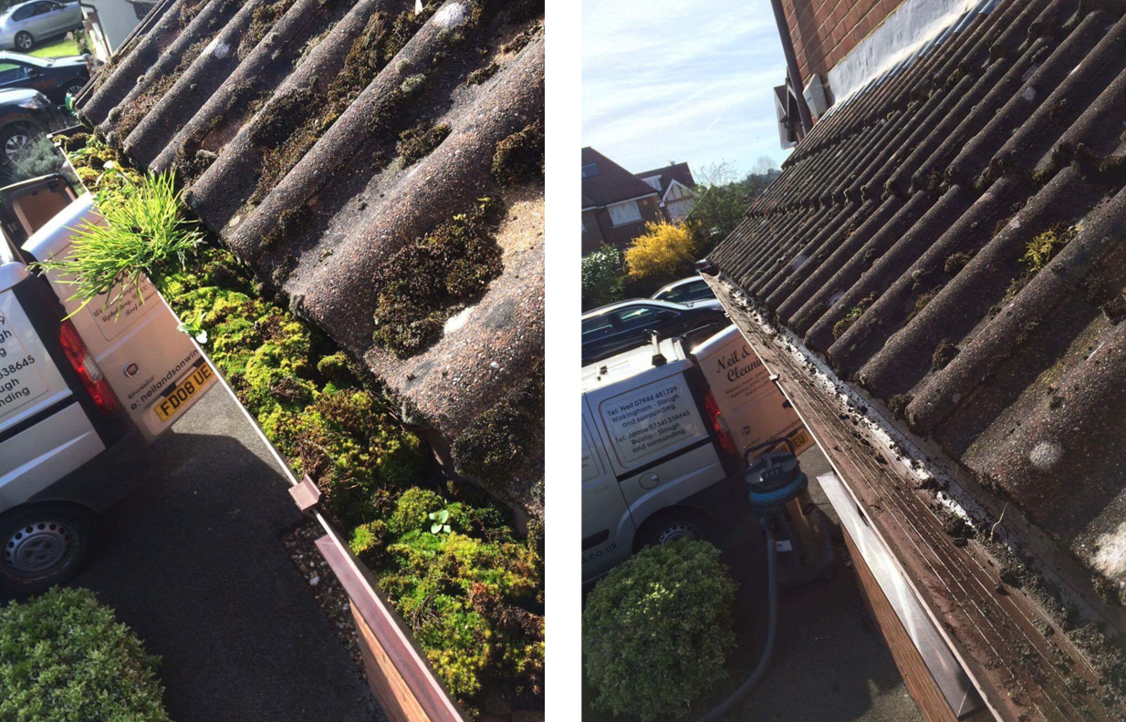 gutter clearing buckinghamshire